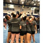 Varsity Competitive Cheer Finishes 2nd Place at Mona Shores High School!
