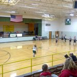 JH Girls Basketball Open up Winter Sports Season