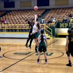 Girls Junior High drops home contest to Catholic Central 33-12