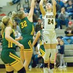 Riders take win over Eagles in girls' hoops action