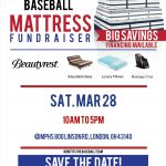 Baseball Mattress Fundraiser on March 28