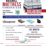 Mattress Fundraiser On March 28th  Come one Come All!!!!