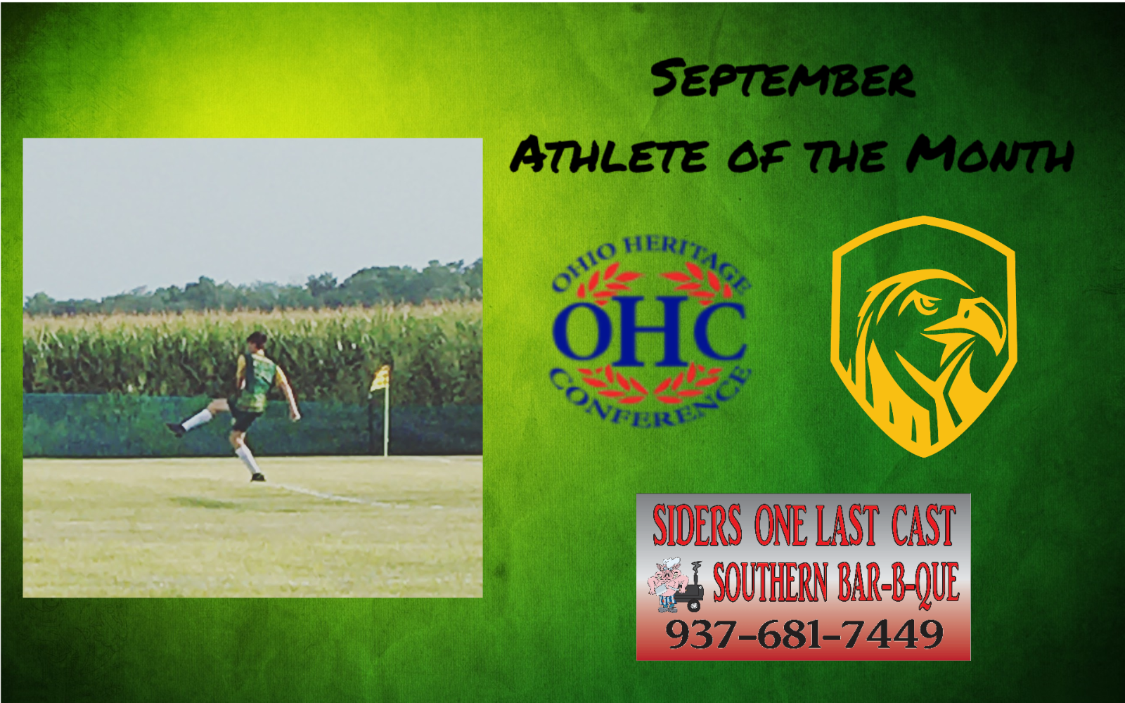 Cahill Earns September OHC Athlete of the Month