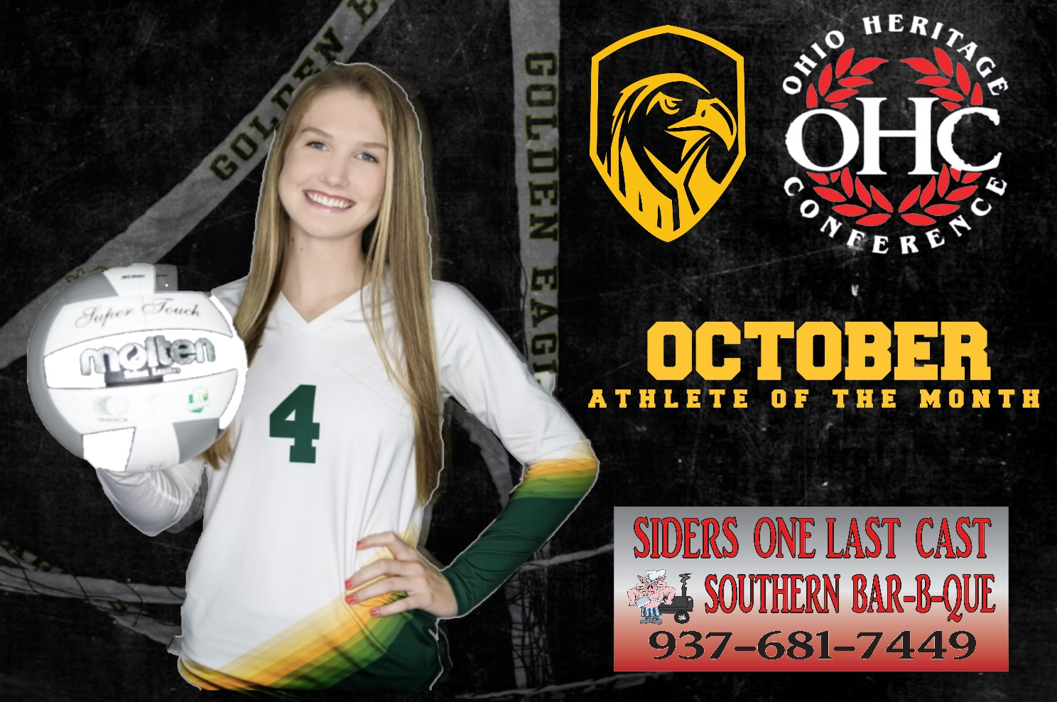 Long Earns OHC October Athlete of the Month