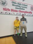 Savannah Reed Competes at Girls State Wrestling Tournament