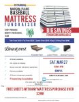 Mattress Fundraiser March 27, 2021