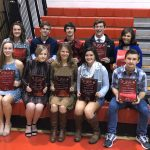 Fall Sportsmanship, Ethics and Integrity Award Winners