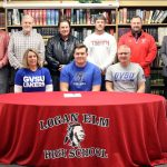 Evan Valentine signs with Grand Valley State University