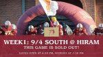FNF: South Paulding at Hiram 9/4