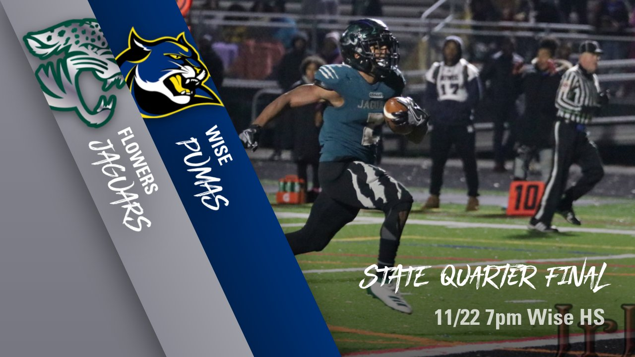 STATE QUARTER FINAL-Football travels to WISE Friday!