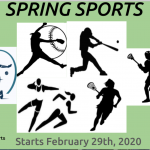 Spring Sports Begin on February 29th