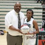 Kaniyah Harris Scores her 1000th Point