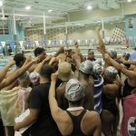 Flowers Swim Teams Ralled Together to Finish their Regular Schedule with Strong Results