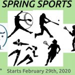 Spring Sports Begins Feb 29 – Parent Meeting March 9
