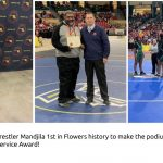 Wrestling Notebook- Felder Honored & Mandjila places!