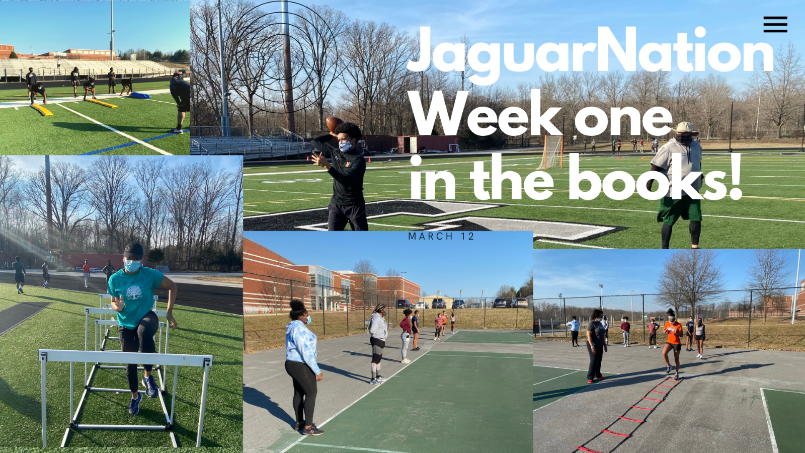 Sports -Week One in the Books!