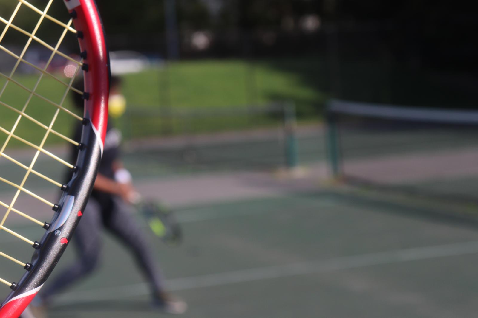 Tennis April 2021 by Virginia Bates