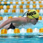 Noblesville High School Girls Varsity Swimming beat Bishop Chatard High School 131-49