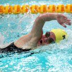 Noblesville High School Girls Varsity Swimming beat Westfield High School 95-91