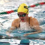 Noblesville High School Girls Varsity Swimming beats Lawrence North 105-75