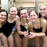 Noblesville High School Girls Varsity Swimming finishes 1st place