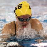 Noblesville High School Girls Varsity Swimming falls to Fishers High School 131-54