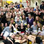 Noblesville High School Boys Varsity Swimming beat Cathedral High School 123-55
