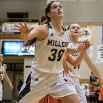 Noblesville High School Girls Varsity Basketball falls to Hamilton Southeastern High School 60-34