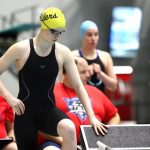 Noblesville Swimming & Diving Alexa Akers places 24th at  state in Butterfly