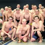 Noblesville High School Boys Varsity Swimming advance relays to IHSAA State Meet