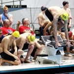 Miller Boys Swimming advance relay to IHSAA State Finals