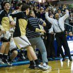 Noblesville High School Boys Varsity Basketball beat Guerin Catholic High School 41-39