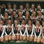 Noblesville JV Cheerleading places 2nd at State