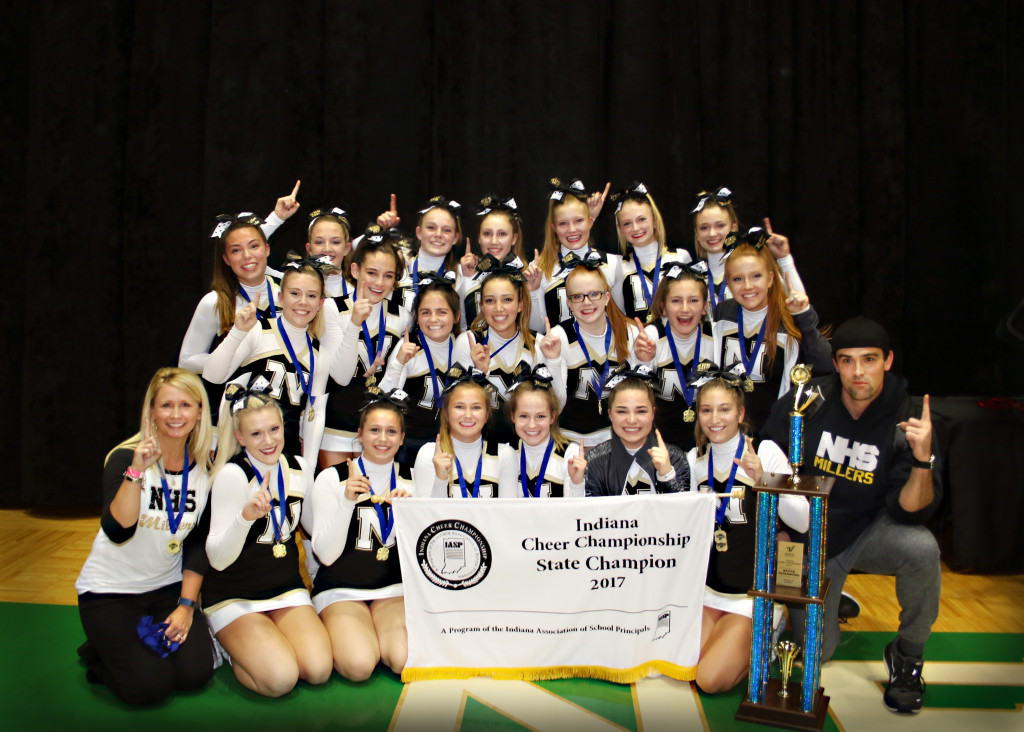 Noblesville Cheerleaders are Back to Back State Champions!