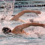 Boys Varsity Swimming falls to Hamilton Southeastern 105 – 80