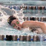 Girls Varsity Swimming falls to Hamilton Southeastern 130 – 56