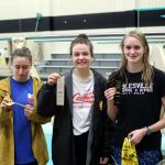 Girls Varsity Swimming finishes 3rd place at NHS Dive Invitational