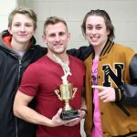 Boys Varsity Swimming finishes 1st place at NHS Dive Invitational
