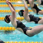 Girls Varsity Swimming beats Lawrence North 135 – 45