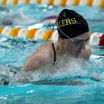 Girls Varsity Swimming finishes 6th place at Hoosier Crossroads Conference Meet