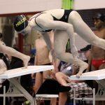 Girls Varsity Swimming falls to North Central 131 – 54