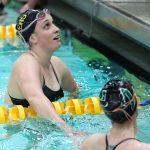 Girls Varsity Swimming falls to Zionsville 124 – 62