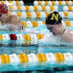 Girls Varsity Swimming falls to Fishers 128 – 58
