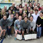 Girls Varsity Swimming beats Cathedral 131 – 53