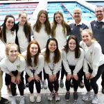 NHS Girls Swimmers Have Strong IHSAA Finish