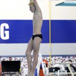 Jared Newman Qualifies for IHSAA State Diving