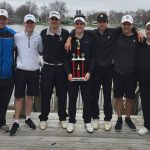 Boys Varsity Golf finishes 1st place at Twin Lakes Invitational