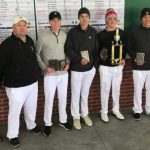 Boys Varsity Golf finishes 1st place at Winchester Invitational