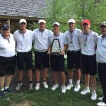 Boys Varsity Golf finishes 1st place at Hamilton County Meet