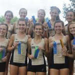 #11 Miller Girls Cross Country wins the Plainfield Relays